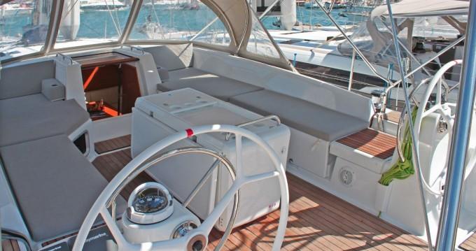 Boat rental Lávrio cheap Jeanneau 54
