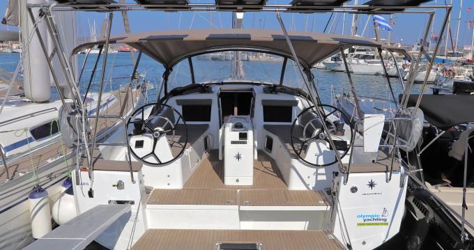 Boat rental Lávrio cheap Sun Odyssey 410