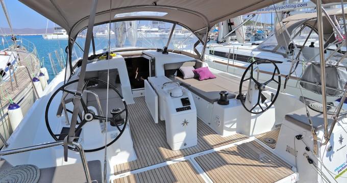 Boat rental Lávrio cheap Sun Odyssey 440