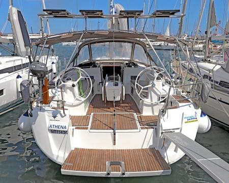 Boat rental Lávrio cheap Sun Odyssey 479