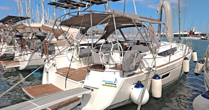 Jeanneau Sun Odyssey 479 between personal and professional Lávrio