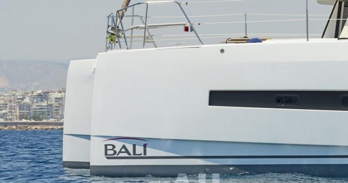 Rental Catamaran in Ionian Islands - Catana Bali 4.0 - 4 + 2 cab.