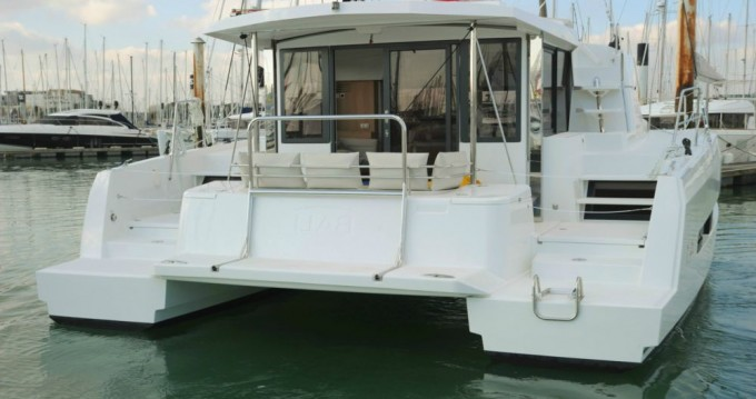 Rental Catamaran in Lávrio - Catana Bali 4.1 - 4 + 2 cab.