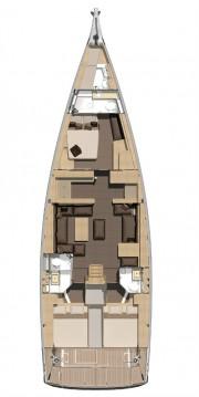 Rental Sailboat in Alimos - Dufour Dufour 560 GL - 3 + 1 cab.