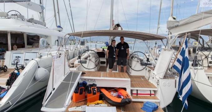 Boat rental Alimos cheap Dufour 560 GL - 3 + 1 cab.