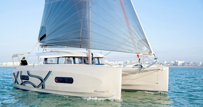 Hire Catamaran with or without skipper Excess Lefkada (Island)