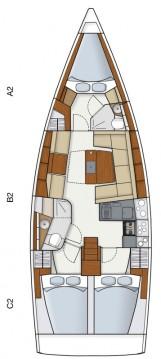 Rental yacht Alimos - Hanse Hanse 415 on SamBoat