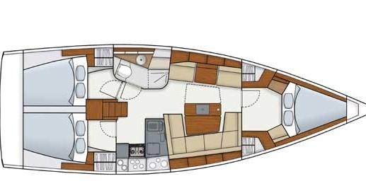 Boat rental Alimos cheap Hanse 415