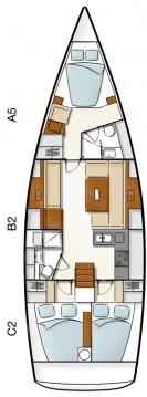 Boat rental Hanse Hanse 430 in Kos on Samboat