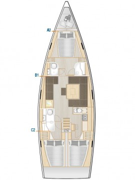 Boat rental Hanse Hanse 458 in Kos on Samboat