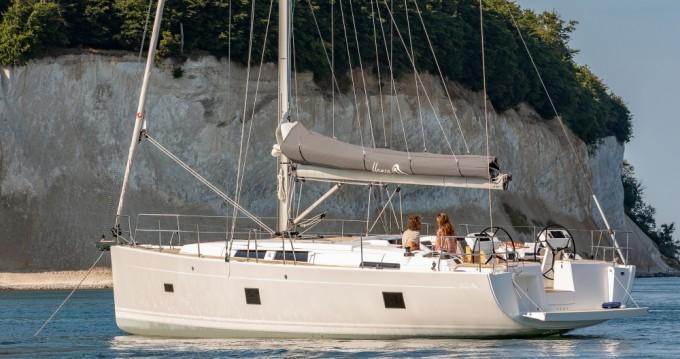 Boat rental Deme of Volos cheap Hanse 458