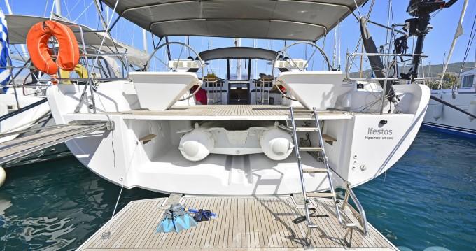 Boat rental Kos cheap Hanse 575 - 4 + 1 cab.