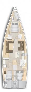 Rental Sailboat in Kos - Hanse Hanse 588