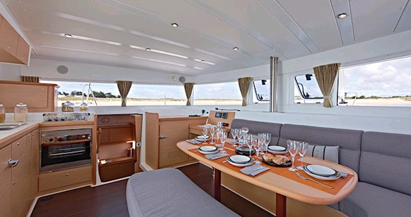 Hire Catamaran with or without skipper Lagoon Rhodes