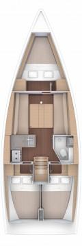 Boat rental Mali Lošinj cheap Dufour 360 Grand Large