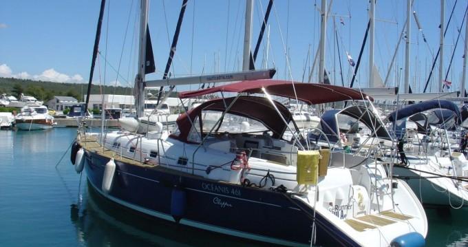 Rental Sailboat in Sukošan - Bénéteau Oceanis 461 Clipper