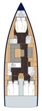 Boat rental Bavaria Bavaria C45 - 3 cab. in Göcek on Samboat