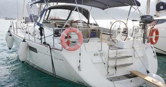 Boat rental Göcek cheap Jeanneau 53