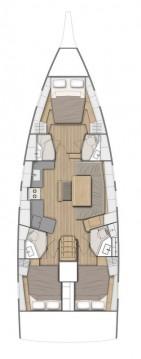 Rental yacht Göcek - Bénéteau Oceanis 46.1 on SamBoat