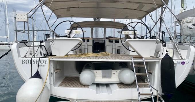 Rental Sailboat in Marmaris - Hanse Hanse 575 - 4 + 1 cab.