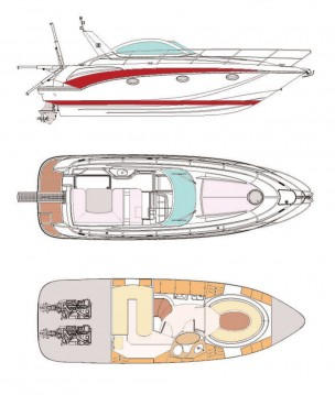 Boat rental Pearl Sea Yachts d.o.o. Pearlsea 33 Open in Baška Voda on Samboat