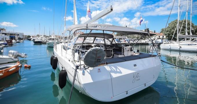 Boat rental Zadar cheap Cruiser 50