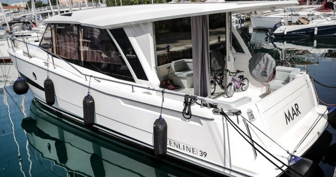 Rental Motorboat in Zadar - Greenline Greenline 39