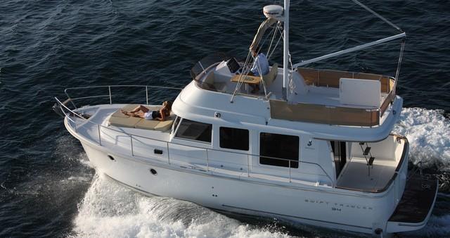Boat rental Zadar cheap Swift Trawler 34 Fly