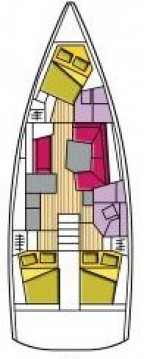 Hire Sailboat with or without skipper Bénéteau Cecina