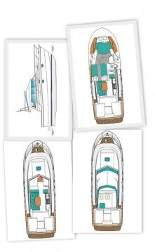 Boat rental Zadar cheap Antares 10.80 Fly