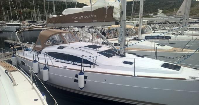Boat rental Zadar cheap Impression 40