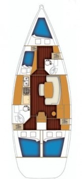 Rental yacht Anzio - Bénéteau Cyclades 43.4 on SamBoat