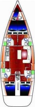 Rental Sailboat in Anzio - Bénéteau Cyclades 50.4