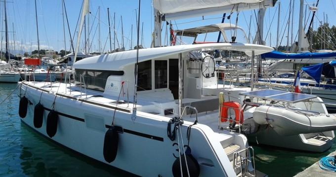 Boat rental Gouvia cheap Lagoon 39
