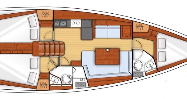 Rental yacht Gouvia - Bénéteau Oceanis 41 on SamBoat