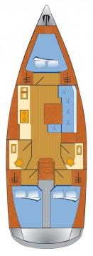 Rental Sailboat in Rogoznica - Dufour Dufour 382 GL