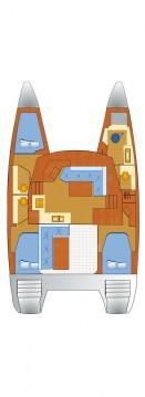 Rental Catamaran in Punat - Fountaine Pajot Lucia 40