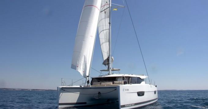 Rental Catamaran in Pula - Fountaine Pajot Lucia 40