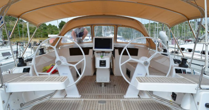 Boat rental Rogoznica cheap Hanse 418