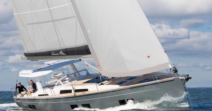 Boat rental Hanse Hanse 588 in Punat on Samboat