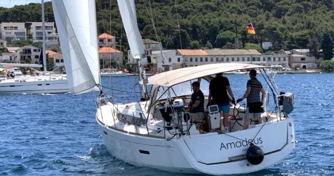 Boat rental Rogoznica cheap Sun Odyssey 389
