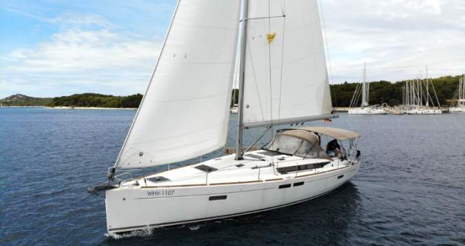 Jeanneau Sun Odyssey 479 between personal and professional Rogoznica