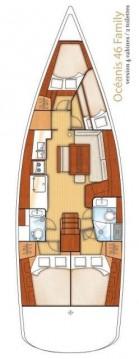Rental yacht Alimos - Bénéteau Oceanis 46 on SamBoat