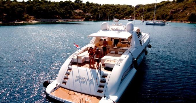 Boat rental Seget Donji cheap Mangusta 80 - 3 cab.