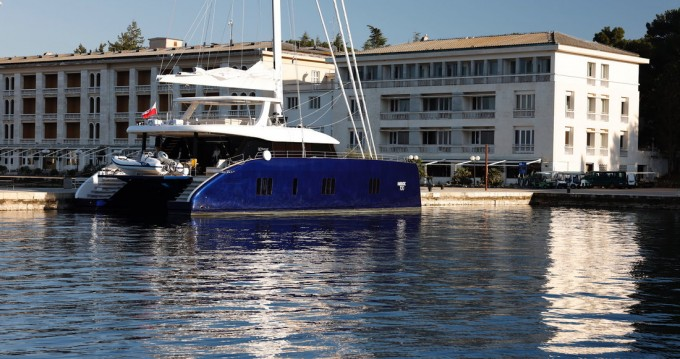 Rental Catamaran in Kaštela - Sunreef Sunreef 80