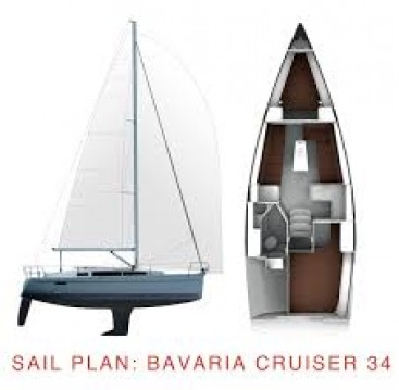 Boat rental Bavaria Bavaria Cruiser 34 Style in Zadar on Samboat