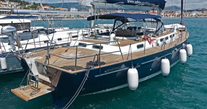 Boat rental Bénéteau Beneteau 57 - 3 + 1 cab. in Split on Samboat