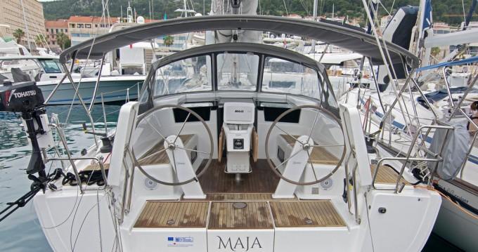 Rental Sailboat in Split - Hanse Hanse 418
