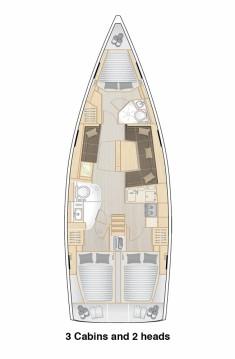 Boat rental Split cheap Hanse 418