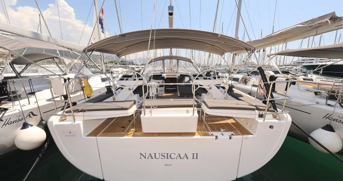 Boat rental Hanse Hanse 588 in Kaštela on Samboat